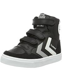 a18d1a0a51605b Hummel Sneaker Kinder Unisex – Stadil JR Leather High – Kinderschuh  Schwarz