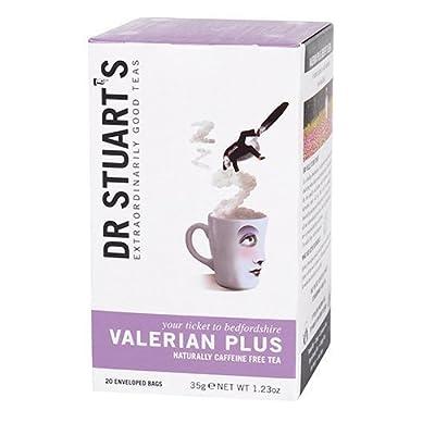 Dr Stuarts Thé infusion Plantes Valériane Plus 15 sachets (Lot de 4)