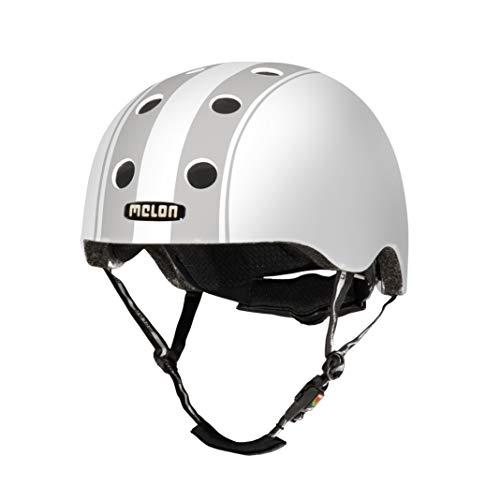 Melon City-Helm Decent double grey XL-XXL (58 cm - 63 cm)