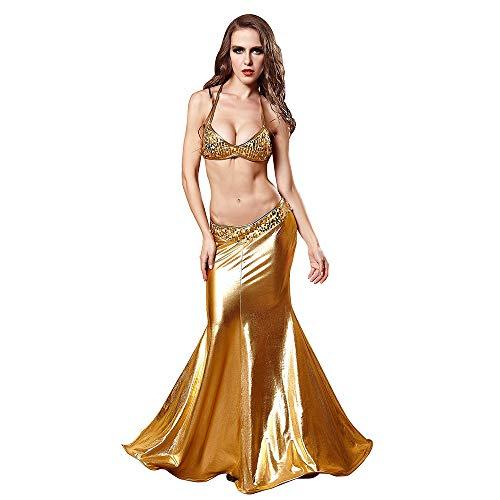 Abiti per halloween, abiti da donna, abiti da sera, abiti da principessa, abiti da festa, sfilate di moda, discoteca, poliestere, oro,m