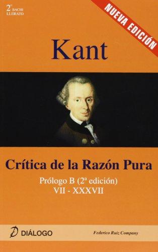 Kant - Critica De La Razon Pura (Filosofia - Dialogo) por Aa.Vv.