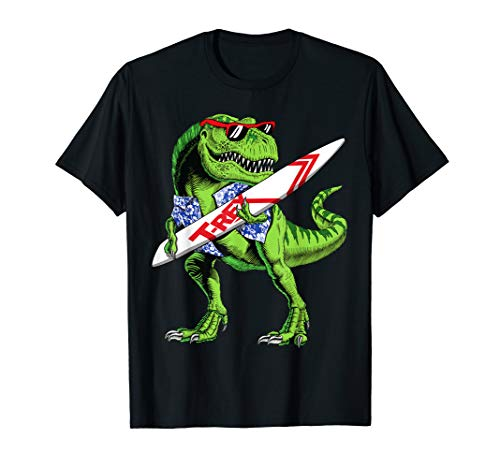 This Is My Hawaiian Dinosaur T Rex Summer Funny Gift  T-Shirt (Halloween-party-songs 100 Beste)