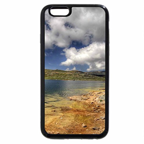 iPhone 6S / iPhone 6 Case (Black) Lake Surround by Landscape