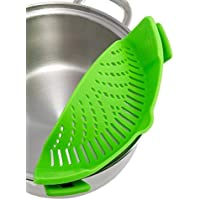 AJOYCN Silikon-Topf Seitenblock Abtropffläche Silikon-Abtropffläche 1PC grün