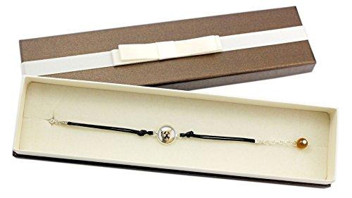 ArtDog Ltd. Cairn Terrier, Armband mit Box für Leute, die Hunde lieben, Foto-Schmuck, Handmade -