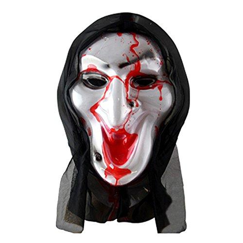 ParttYMask Maskerade,Horror Geistermaske Vampir Vollgesicht Outfit C4 ()