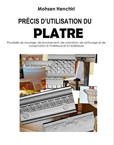 Précis d'utilisation du plâtre Procédés de moulage, de durcissement, de coloration, de nettoyage et de conservation à l'intérieur et à l'extérieur: Précis d'utilisation du plâtre par