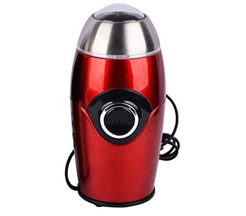 18c012cb47bc Nola Sang Inicio Molinillo eléctrico de polvo Molinillo portátil de grano  pequeño Trituradora de grano de café Superfine , red