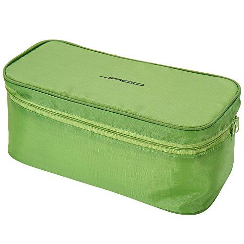 Jago Borsa da viaggio beauty case organizer da viaggio per intimo biancheria colore a scelta (verde)