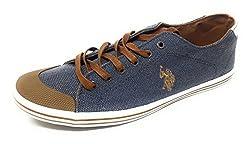 US Polo Association Mens Light Indigo Boat Shoes - 8 UK/India (42 EU)