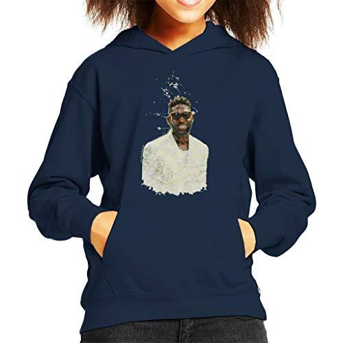Tinie Tempah London Fashion Show 2015 Kid's Hooded Sweatshirt