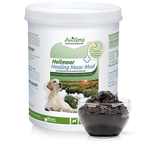 AniForte Heilmoor für Hunde 1500 ml - 1200 g, Natur Pur, Unterstützung Verdauung, Stärkung Immunsystem, Optimierung Magen-Darm-Aktivität, Anregung Appetit, Hohe Akzeptanz, Natürliches Moor-Extrakt