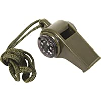 Emergency Whistle Contain Compass, Temperature Display and Whistle by XXWG