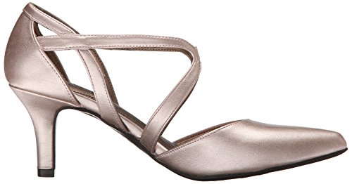 Life Stride Seamless Damen Breit Synthetik Sandale Rose Gold