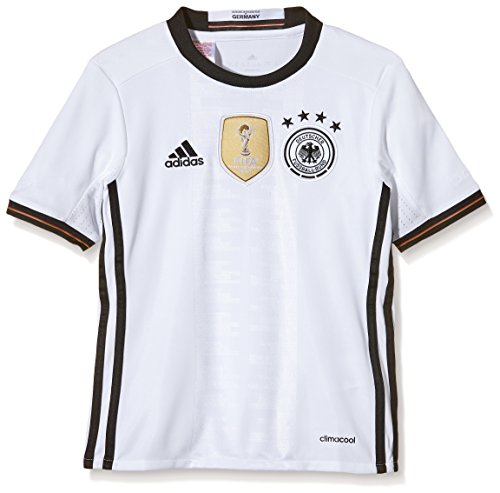 adidas Kinder AA0138 DFB Home Jersey Youth EM 2016, weiß, 152, AA0138 -