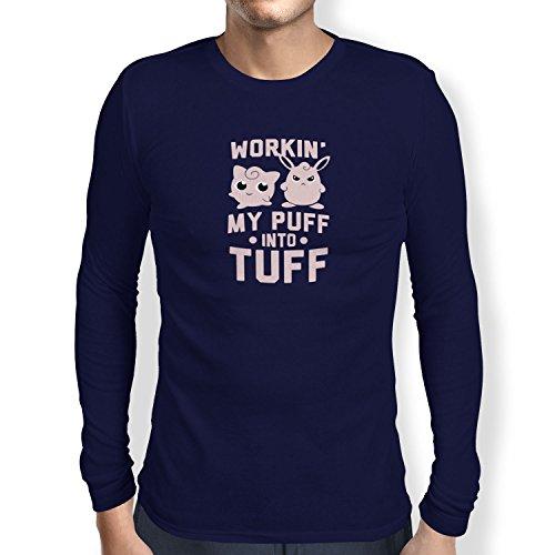 TEXLAB - Workin' Out - Herren Langarm T-Shirt Navy