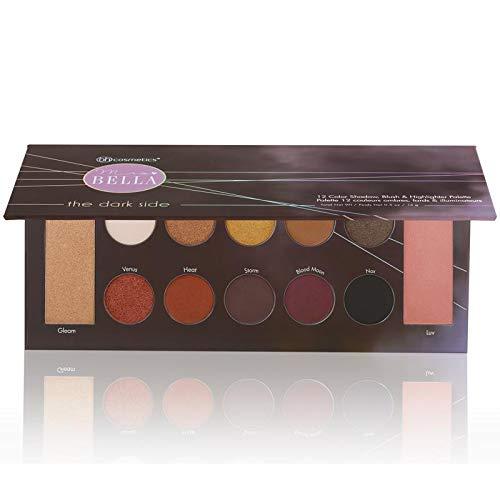 Mrs. Bella The Dark Side - 12 Farben Lidschatten, Blush & Highlighter Palette