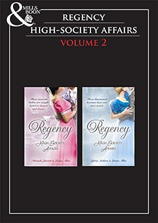 book cover of Regency High Society Vol 2