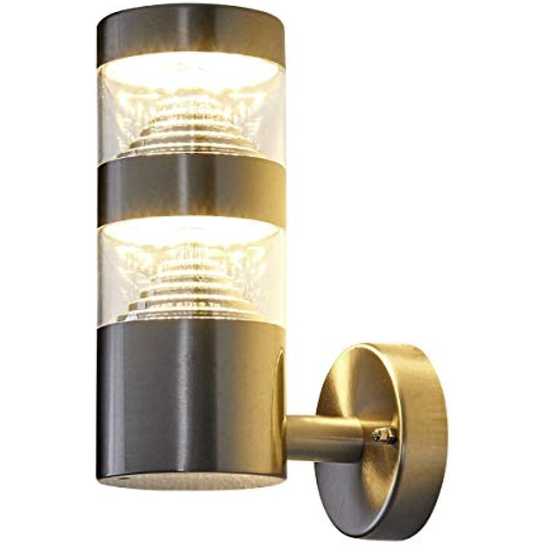 Led Applique Extérieurlanea Moderne En Gris En Inox Lampeà 1