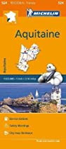 Aquitaine - Michelin Regional Map 524: Map (Michelin Regional Maps)