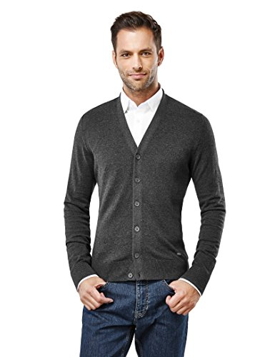 VB -  Cardigan  - Basic - Maniche lunghe  - Uomo grigio M