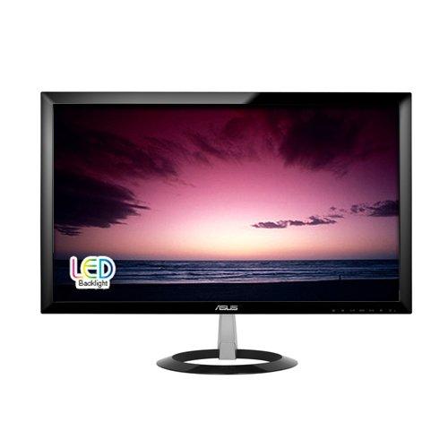 """Asus VX238T Monitor da 23""""/58.42 cm, Wide Screen, 16:9, WLED/TN,1920 x 1080, 250 cd/mq, Nero/Antracite"""