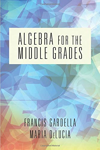 Algebra for the Middle Grades (NA)