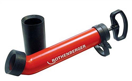 Rothenberger Saug- und Druckreiniger | Profi Rohrreiniger Pumpe | Abflussreiniger RoPump Super Plus X inkl. 2 Adapter