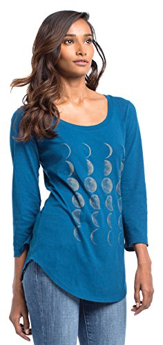 Synergy Organic Clothing Mondphasen Ballett Top Poseidon