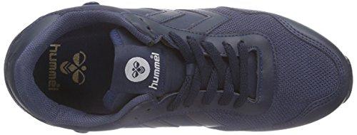 hummel REFLEX TOTAL TONAL Unisex-Erwachsene Sneakers Blau (Medieval Blue 7556)