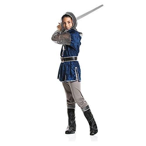 Kostümplanet® Ritter-Kostüm Kinder Jungen + Stiefel-Stulpen Faschingskostüm Größe 152 - 2