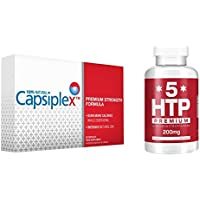 Capsiplex Premium Strength Diet and Weight Loss Supplement with 5-HTP
