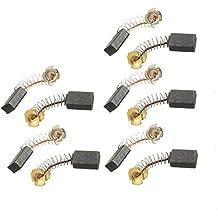 5 pares de piezas 15 mm x 10 mm x 6 mm Motor cepillos de carbono