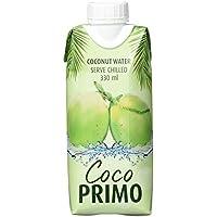 Coco Primo Kokosnusswasser (100% Pur) 12er Pack (12 x 330 ml)