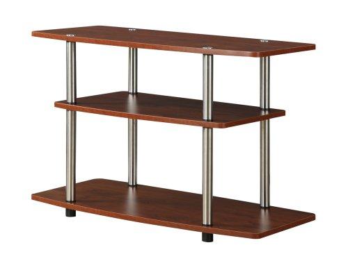 Convenience Concepts Designs2Go TV-Ständer mit 3 Etagen Casual Cherry - Schlafzimmer Kirsche Tv-ständer