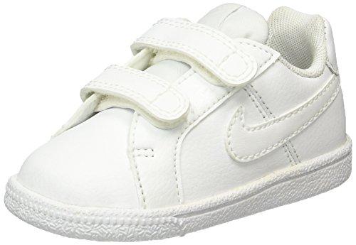Nike Court Royale (TDV), Scarpe da Tennis Unisex-Bambini, Bianco White 102, 27 EU