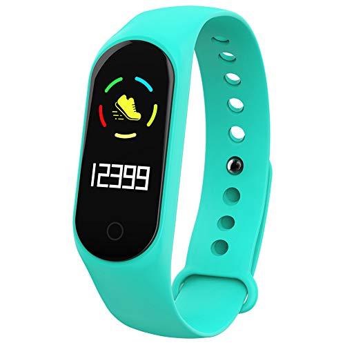 9302sonoaud M4S Il Messaggio di Chiamata del Monitor di Sonno di frequenza cardiaca Impermeabile Ricorda Il Braccialetto astuto di Sport Verde