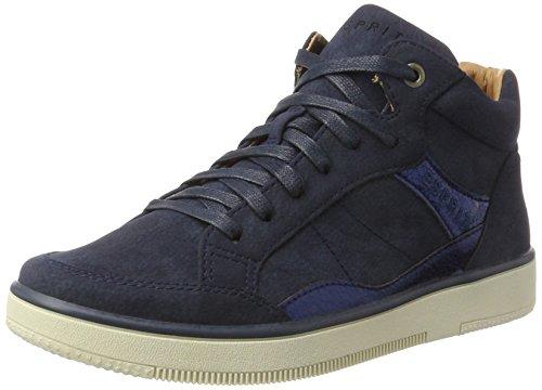 ESPRIT Damen Desire Bootie Hohe Sneaker, Blau (Navy), 37 EU