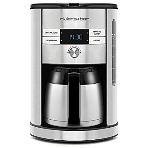 Cafetiere Isotherme Inox - Riviera & Bar BCF560 Cafetière Filtre Isotherme