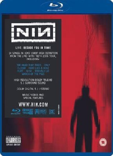 Price comparison product image Nine Inch Nails - Beside You In Time [Blu-ray] [2007] [Region Free]