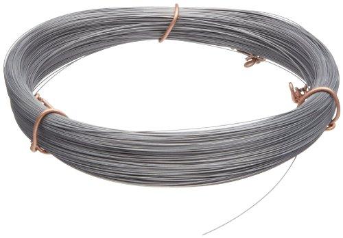 High Carbon Stahl Draht, # 2B (glatt) Finish, Full Hard Temper, ASTM A228, 0,1cm Durchmesser, Länge 162, Präzision Toleranz (Draht Aus Rostfreiem Stahl)