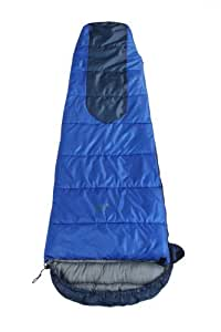 North Gear LOCHE Mummy Sleeping Bag, Blue