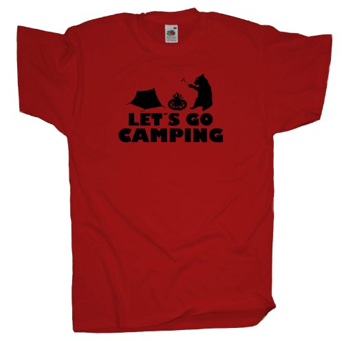 Ma2ca - Let´s Go Camping T-Shirt Red