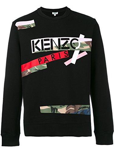 kenzo-mens-f755sw1564oa99-black-cotton-sweatshirt