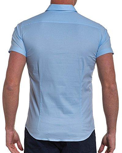 BLZ jeans - Chemisette bleu ciel Bleu