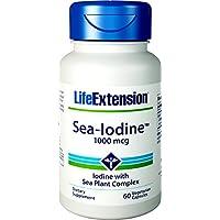 Life Extension, Sea-Iodine, 1000mg, 60 Veg. Kapseln