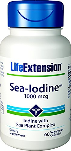Life Extension, Sea-Iodine, 1000mg, 60 Veg. Kapseln