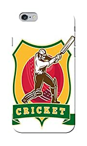 KnapCase Cricket Batsman Designer 3D Printed Case Cover For Apple iPhone 6