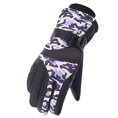Snowboardhandschuhe Warme wasserdichte Ski-Handschuhe Mann-einen.Kreislauf.durchmachenhandschuhe, D