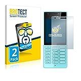 BROTECT Protection Ecran pour Nokia 216 [2 Pièces] - HD Ultra-Clair, Sans Bulles, Anti-Trace